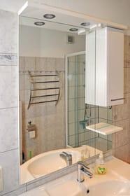 Spiegelschrank Bad.