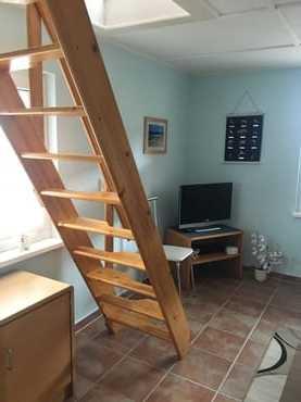 Treppe zum Schlafboden