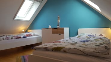 Studio mit 2 Einzelbetten
