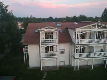 Blick auf großen Balkon 2