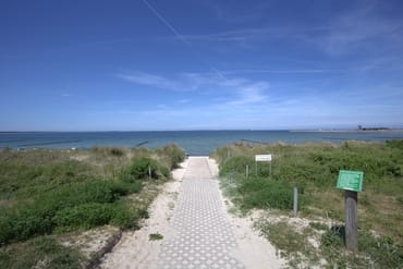 Strandzugang bei Arkonablick