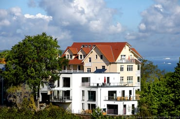 Villa Bergfrieden Terrassenhaus - Südansicht