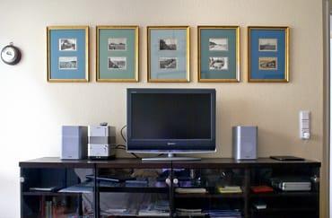 Wohnzimmer, TV