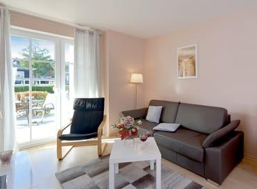 Das Interieur des Wohn- und Essbereiches ist modern und gemütlich zugleich. Lassen Sie die Seele baumeln:  ...