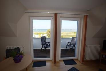der Balkon....freie Sicht auf Kap Arkona