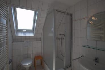 Bad mit praktischen Ablagen