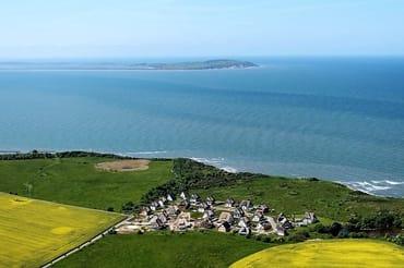 Luftbild auf Rehbergort