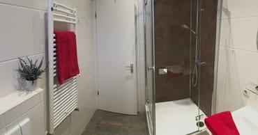 Modernes Duschen