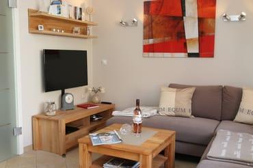 Wohnbereich Sitzecke mit TV