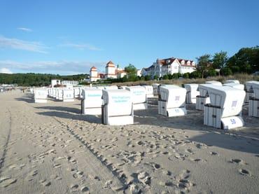 Von Mai - September ist ein Strandkorb am Strand im Preis enthalten.