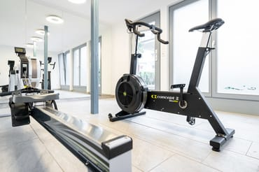 Blick in den Fitnessraum