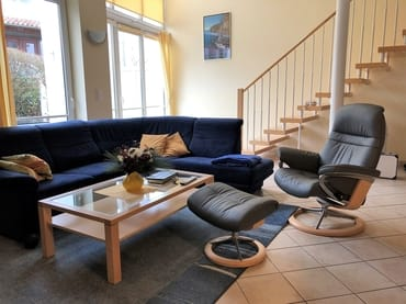 Doppelhaushälfte Binz-Amselweg: Wohnbereich