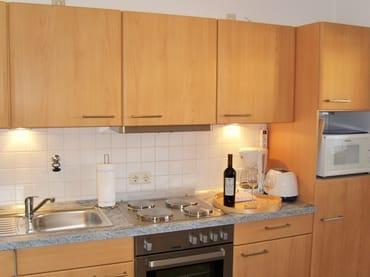 Die separate und moderne Küche