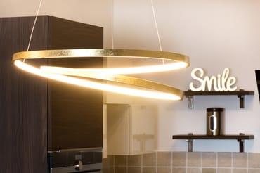 Detail Esszimmerlampe