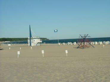 und wieder an den Strand