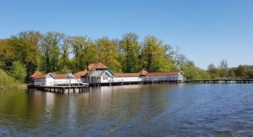 Historische Badeanstalt am Großen Eutiner See