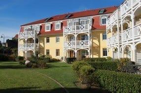 Apartmentresidenz Ostseestrand - Rückansicht