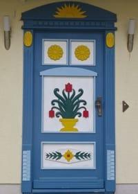 Wunderschöne Darßer Tür