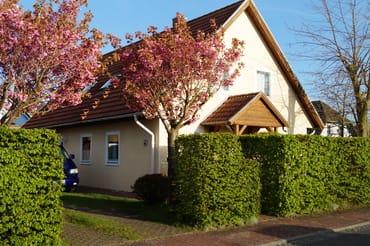 Haus mit sep. Einliegerwohnung Eingang kl. Vordach