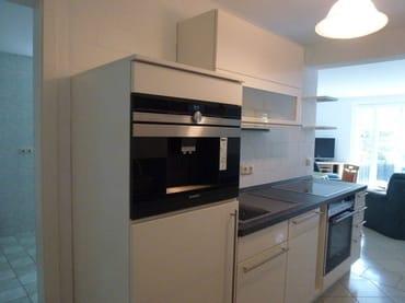 Küche mit div. neuen modernen Geräten