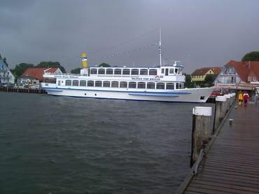 Ganz in der Nähe befindet sich der Breeger Hafen
