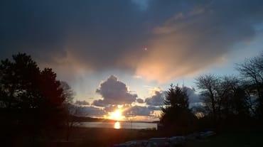 Herrlicher Sonnenaufgang