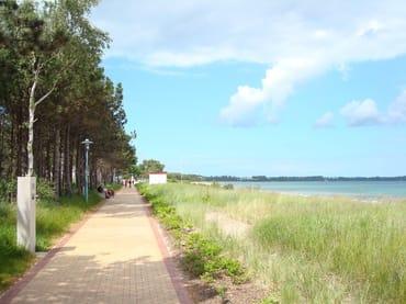 Strandpromenade Juliusruh/Breege