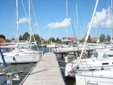 Segelhafen von Breege