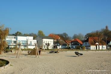 Spielplatz am neuen Strand von Altefähr