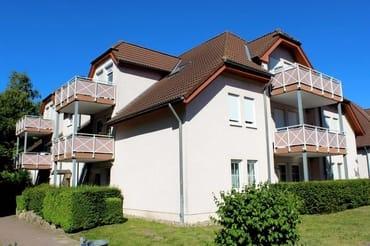 """Unsere Ahoi-Appartements für 2 (3),   4 und  4(5 ) Personen in der gepflegten Anlage """" Parkresidenz Dierhagen-Strand"""""""