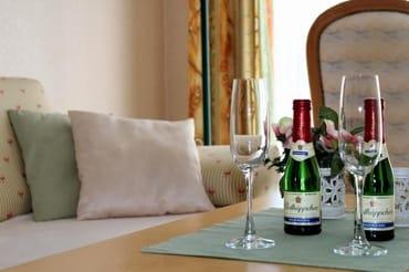 Ein herzlicher Willkommensgruß stimmt Sie auf einen erholsamen Urlaub ein