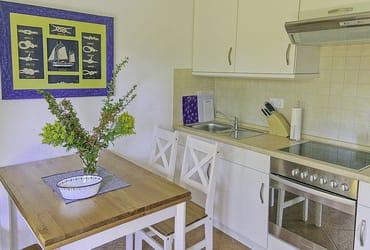 Essecke mit Küchenzeile