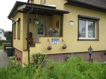 Eingang zu unserem Haus