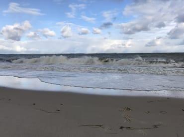Strandwanderung-Erlebnis zu jeder Jahreszeit