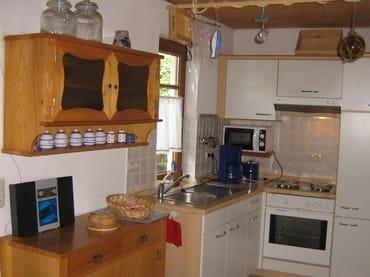 Blick auf die Küche