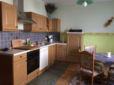 Noch ein Blick auf die Küchenzeile