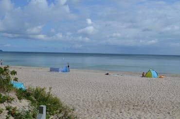 Der feinsandige Thiessower Strand