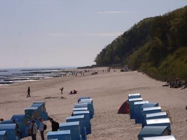 Strand mit Streckelberg