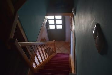 Treppe in den Schlafraum