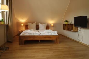 Appartement 1 mit  Doppelbett