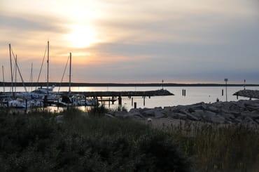 Der Hafen von Glowe