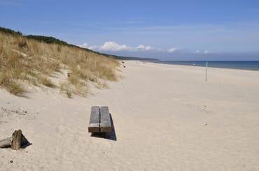 Karlshagen, Strandblick Richtung Norden