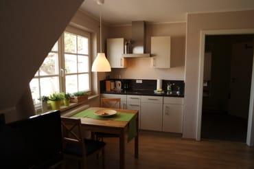 Das Appartement mit Blick auf die Ostsee