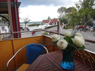 Nochmal: der Blick zur Ostsee