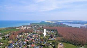 Lage zwischen Ostsee und Bodden