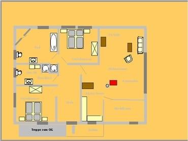 GRundriss DG-Wohnung 95 qm