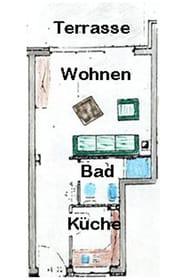 Grundriss der Wohnung B12