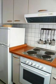 Backofen und Kühlschrank