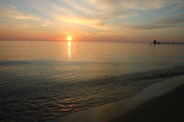 Sonnenaufgang Zinnowitz Strand