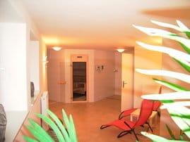 """Residenz """"Grüne Düne"""": Diese Sauna mit Ruheraum erwartet Sie im Haus!"""